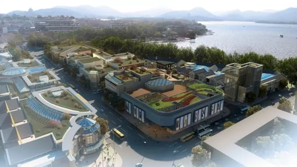 杭州中心 望宸阁 城市之门 杭州将建这些新地标