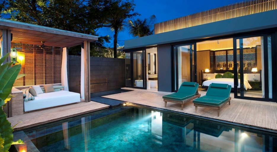 巴厘岛 w 水疗度假酒店(图片来源于网络)