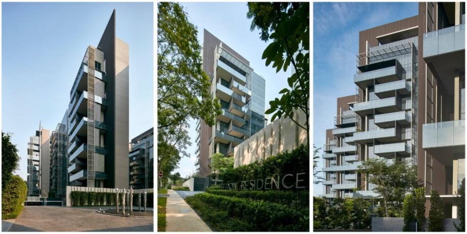 大块面的玻璃,钢结构等现代材料,以极简设计风格,在留白中展现去芜存